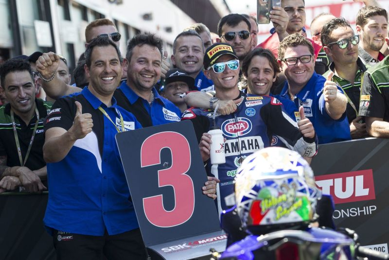 Home Hero Caricasulo Returns to the Podium at Misano
