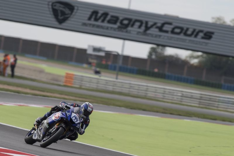 GRT Yamaha Official WorldSSp Team inizia in modo superbo Venerdì a Magny-Cours