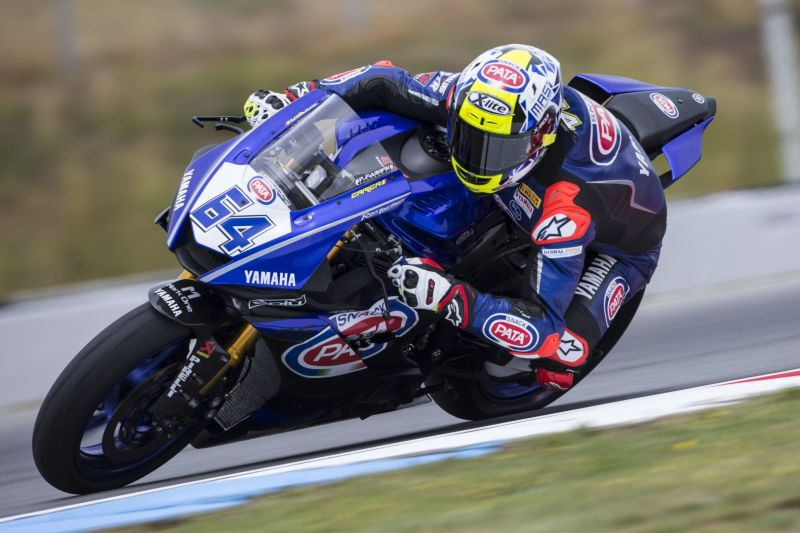 GRT Yamaha Work Hard on Friday in Brno