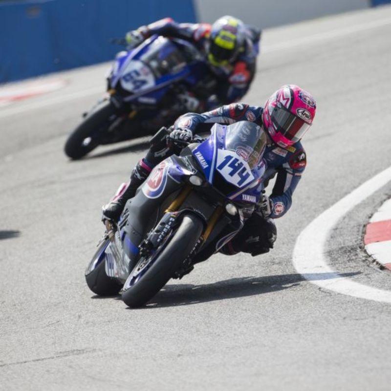 Il GRT Yamaha OfficialTeam WSSP ha affrontato a Donington Park una dura e impegnativa domenica