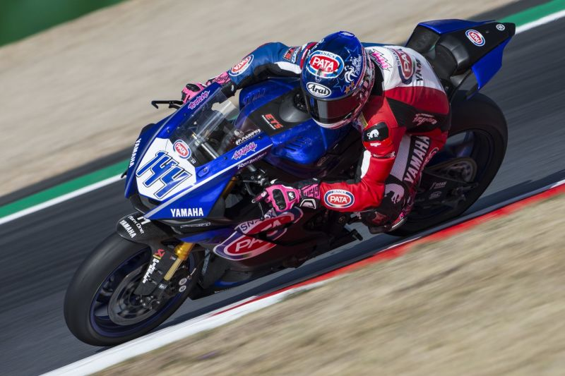 Mahias and Caricasulo on the Pace in Magny-Cours