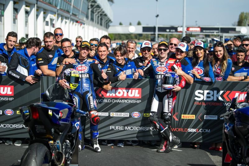 Il GRT Yamaha Official Team WorldSSP domina le qualifiche a Magny-Cours