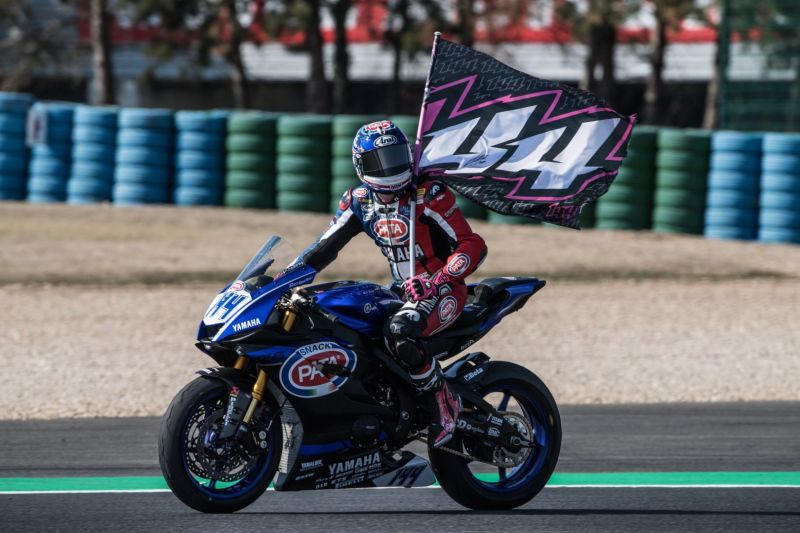 Podium Finish for Home Hero Mahias in Magny-Cours