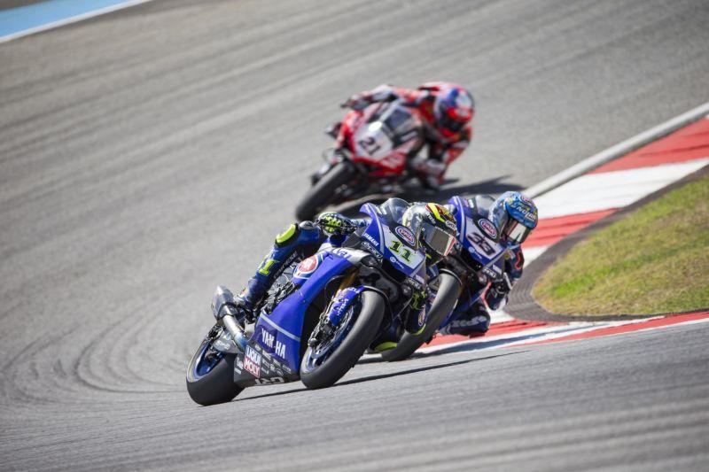Top 10 per entrambi i piloti GRT Yamaha in Gara 1 al circuito di Portimao