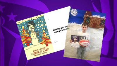 First ever RLWC2021 Christmas card winner announced
