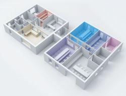 Перепланировка при объединении двух квартир в одну