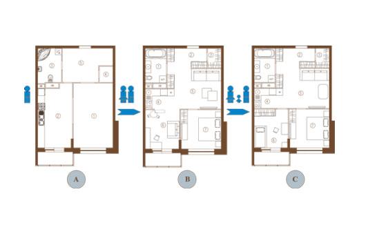 Главные критерии перепланировки однокомнатной квартиры