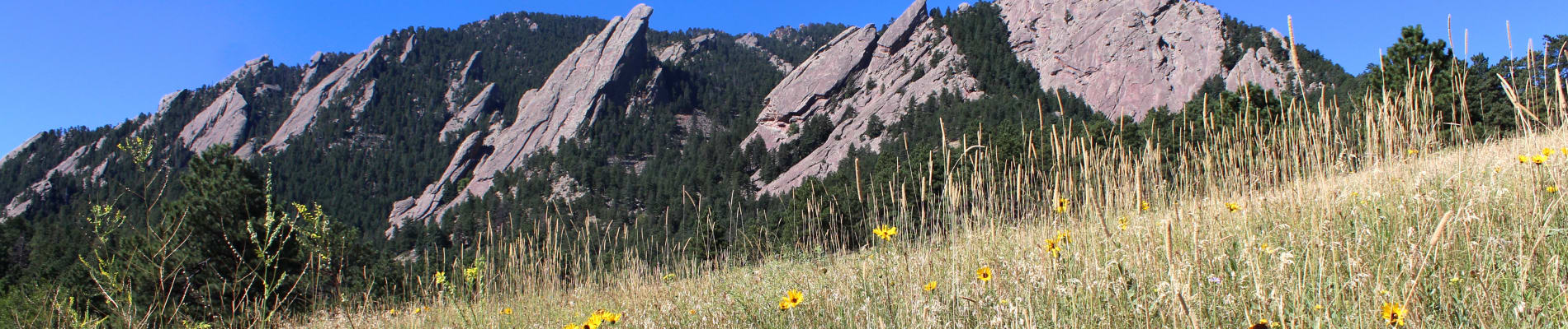 Boulder Colorado mountains