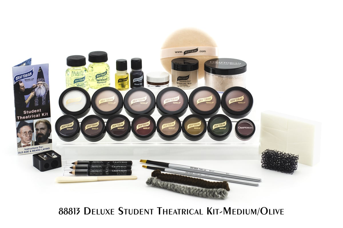Deluxe Student Theatrical Makeup Kit