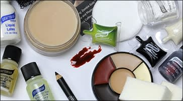 Applying Special FX Makeup