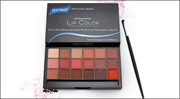 Lip Palette and Brush