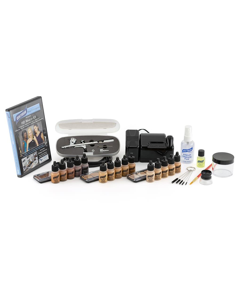 Walk-Around™ System Airbrush Makeup Kits - GlamAire™ Ultra HD Beauty Set