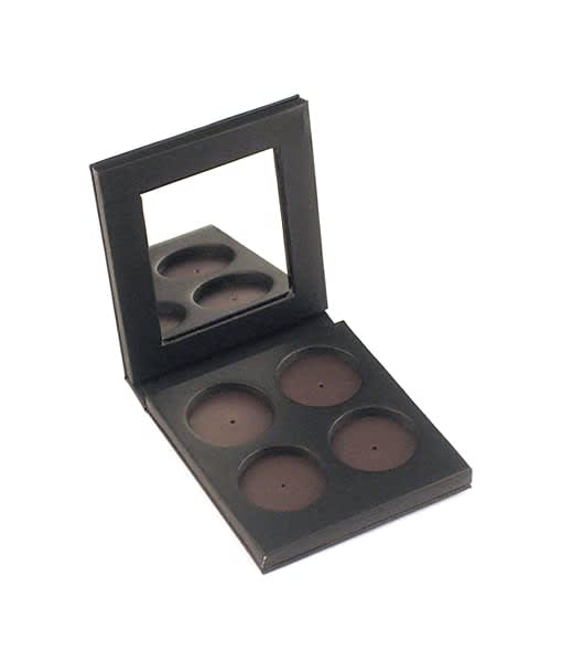 Empty 4-Well Refillable Palette