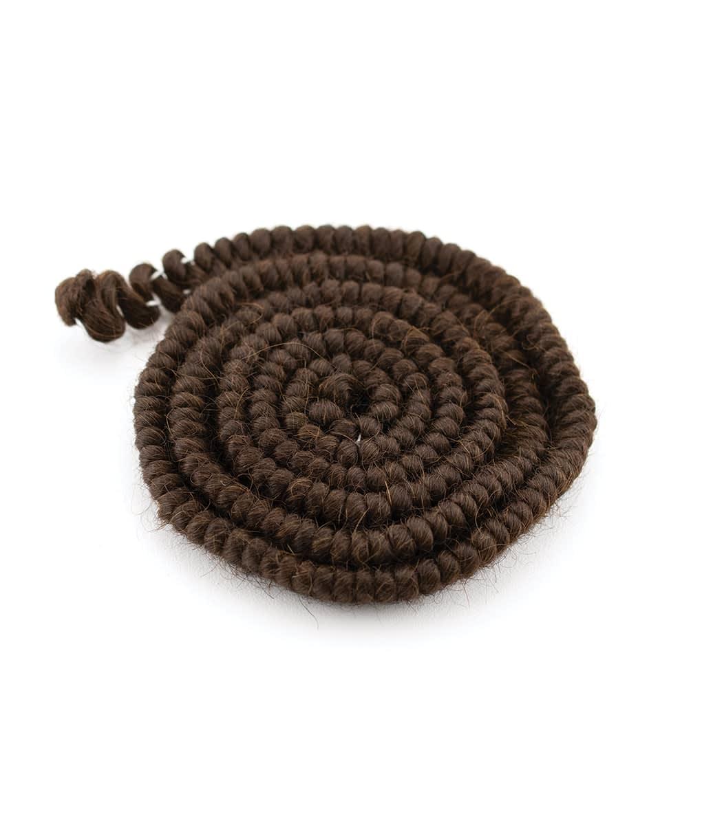 Crepe Wool, 1 yard braided