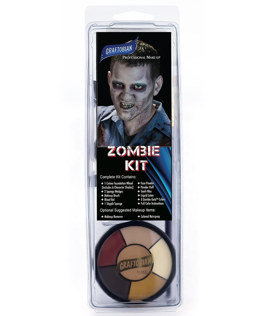 Zombie Makeup Kit Graftobian Make Up