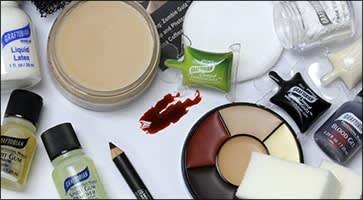 Applying Special FX Makeup