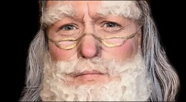 Father Christmas Body Painting