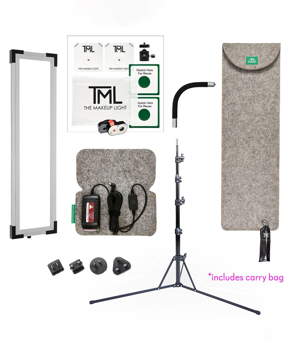 TML Eyelight Bundle with Magic Mount Kit, Light Stand and Gooseneck