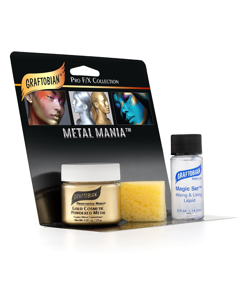 Metal Mania™ - Cosmetic Powdered Metals + Magic Set™