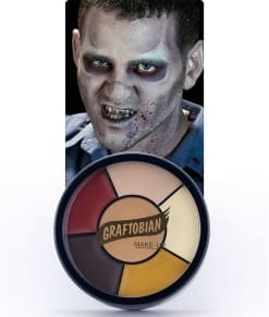 Zombie -- Creme Makeup Wheel with Instructions
