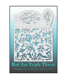 Bad Ass Triple Threat™ Stencils