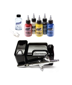 Walk-Around™ System Airbrush Makeup Kits - Primary F/X Set