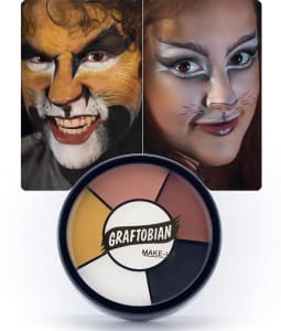 Cat -- Creme Makeup Wheel with Instructions