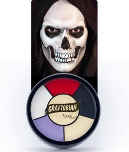 Skull -- Creme Makeup Wheel with Instructions