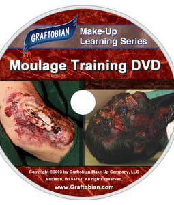 Moulage EMS and Special Effects Training DVD