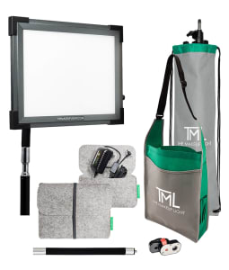 TML Key Light 2.0 Starter Kit with Stand - Graphite