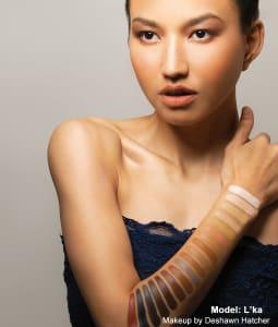 HD Makeup Glamour Creme Foundation Inclusion Palette