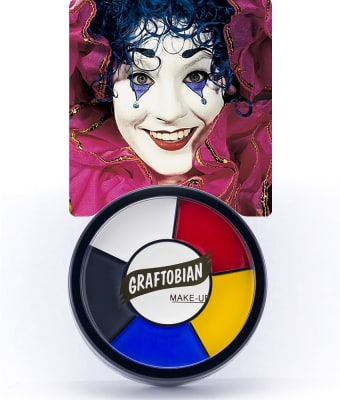 Clown -- Creme Makeup Wheel with Instructions