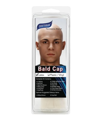 Latex Bald Cap With Instructions