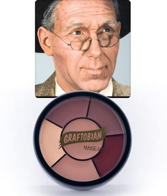 Old Age -- Creme Makeup Wheel with Instructions