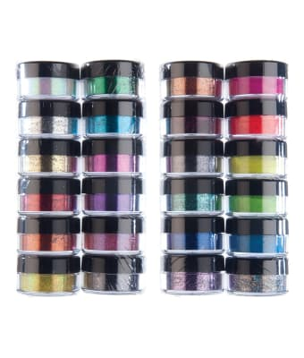 Powdered Glitter Stacks - 12 color assortments