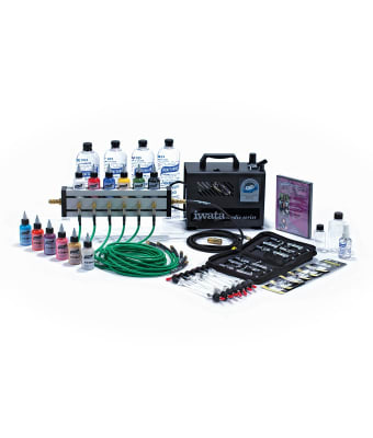 F/X Aire™ 6-Brush Deluxe Airbrush System