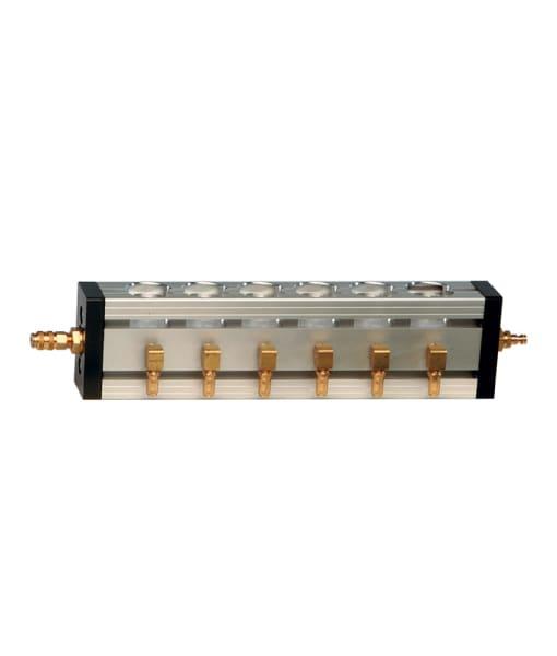 Air Rail™ 6-Port Airbrush Manifold, and Manifold Parts