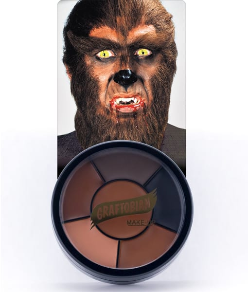 Werewolf -- Creme Makeup Wheel with Instructions
