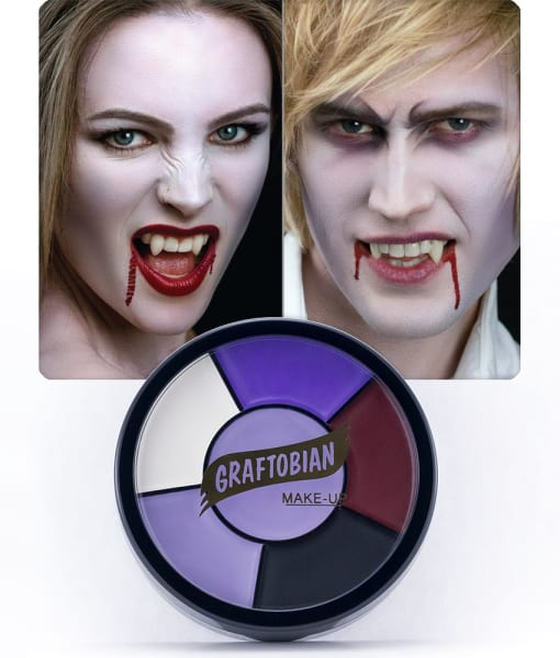 Vampire -- Creme Makeup Wheel with Instructions