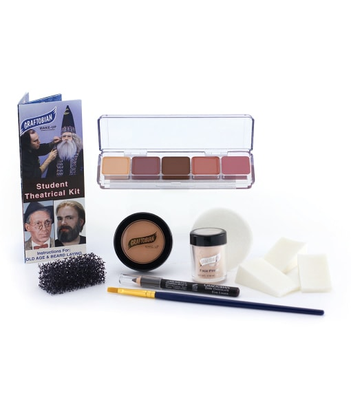 Boxed Student Theatrical Makeup Kit