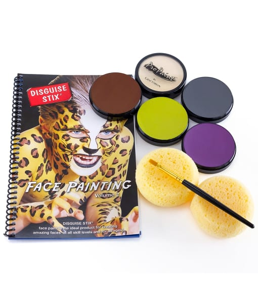 ProPaint™ Face and Body Paint - 5 Creepy Colors Assortment