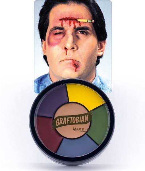 Severe Trauma -- Creme Makeup Wheel w/ Instructions