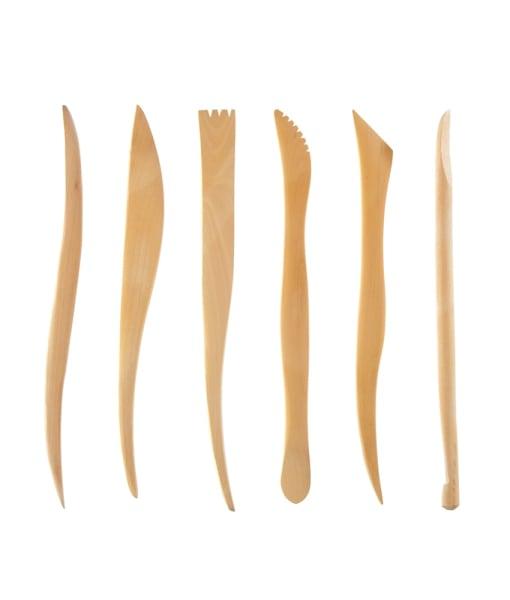 Wooden Sculpting Tools Set