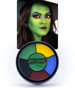 Witch -- Creme Makeup Wheel with Instructions