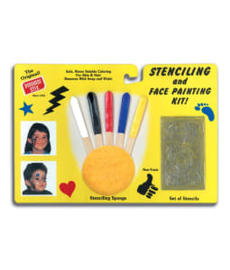 Stenciling & Face Painting Kit