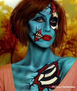 philipe herhandez pop art zombie