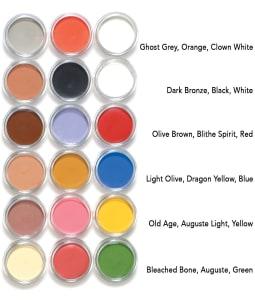 mini theatrical creme colors