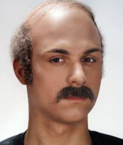 half bald