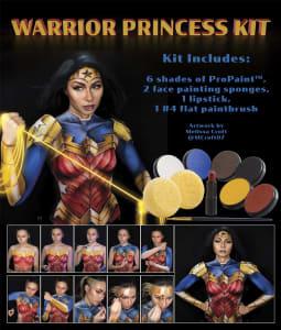 warrior princess step by