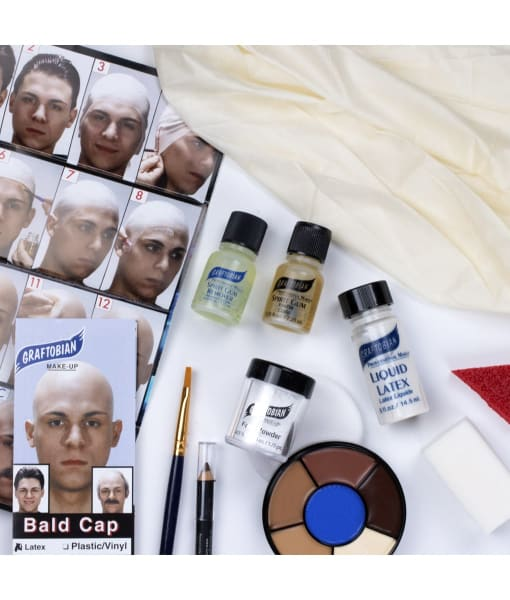 bald cap kit exploded